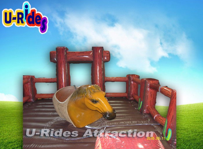 2017 New Funny Sports Entertainment Mechanical Riding Horse Game