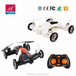 2.4Ghz 6 axis RC drone flying high speed racing car Air-ground quadcopter with 2.0mp camera wifi