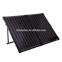 SHINE folding solar pack 120watt folding planket solar charging import china products handle bag power solar charging