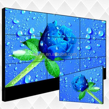 2019 hot sell 55 inch High Brightness Easy combination Full viewing angle advertising video wall
