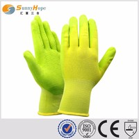 2017 new style latex foam comfortable garden working gloves