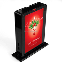 X'mas high quality coffee house desktop advertising backup polymer battery charging station