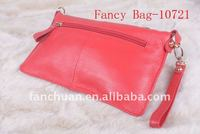 high quality leather toilet bag