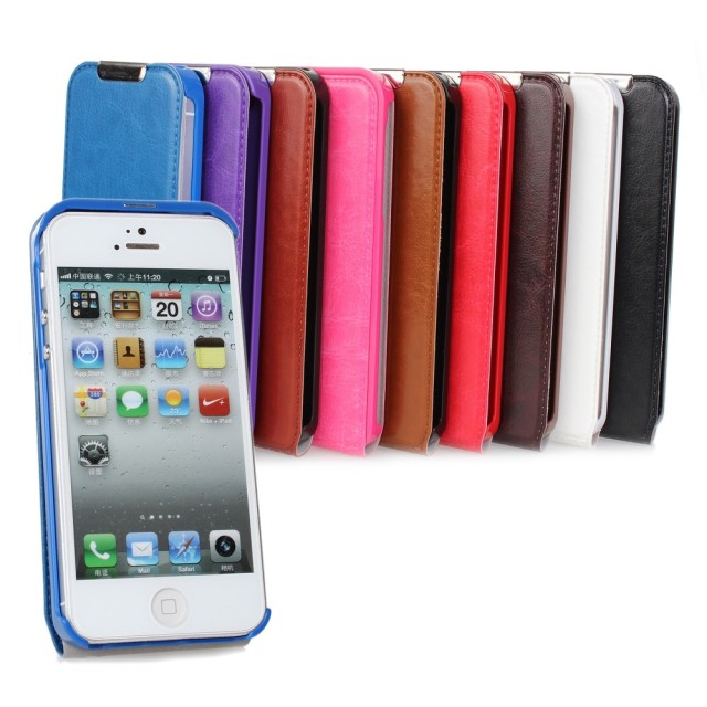 Magnetic Flip Mobile Flip Case Smartphone Cover Case For iPhone 5 5s Flilp Case