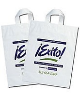 Eco-friendly Biodegradable Dress Clothing Store OEM Plastic Shopping Carrier Bag Wholesale