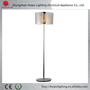Modern chrome skyscrape image fancy floor lamp for office