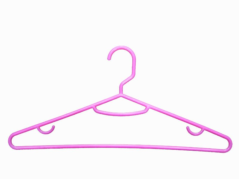 Plastic personalized clothes hanger made of PP material JM6314 Direct Deal