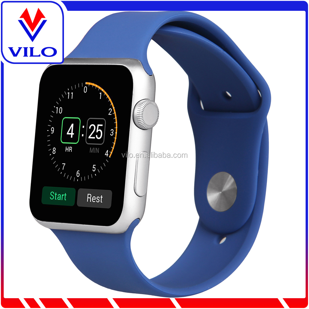 high performance Apple watch band silicon, Apple watch rubber strap for man