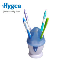 Newest Fashion 3w UV toothbrush sanitizer for travel usage, shenzhen UV toothbrush disinfector for fitness