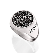 Jingli Jewelry custom unique stainless steel ring high school graduation championship class ring