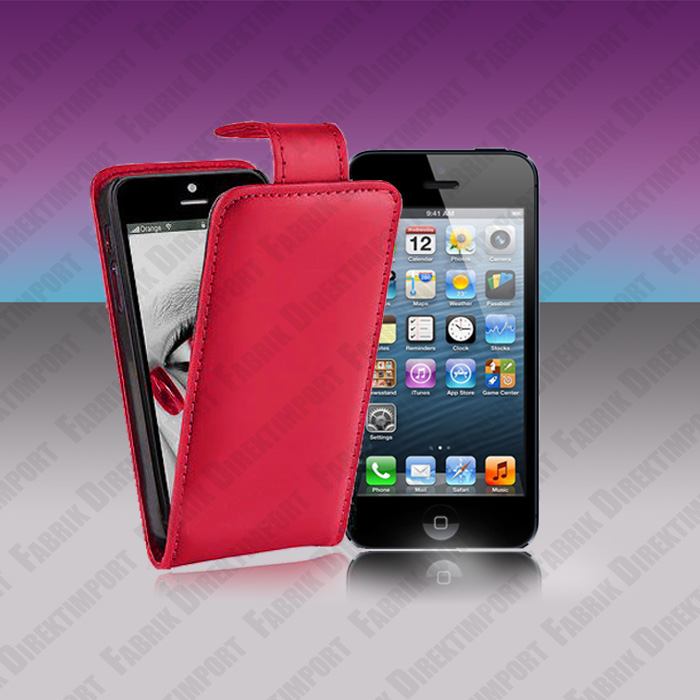 Flip Leather Flip Case Cover Skin Holster Bumper for iPhone 5 5S 5C