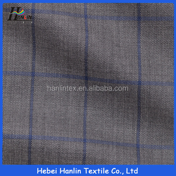 Customer most like italian check suit fabric