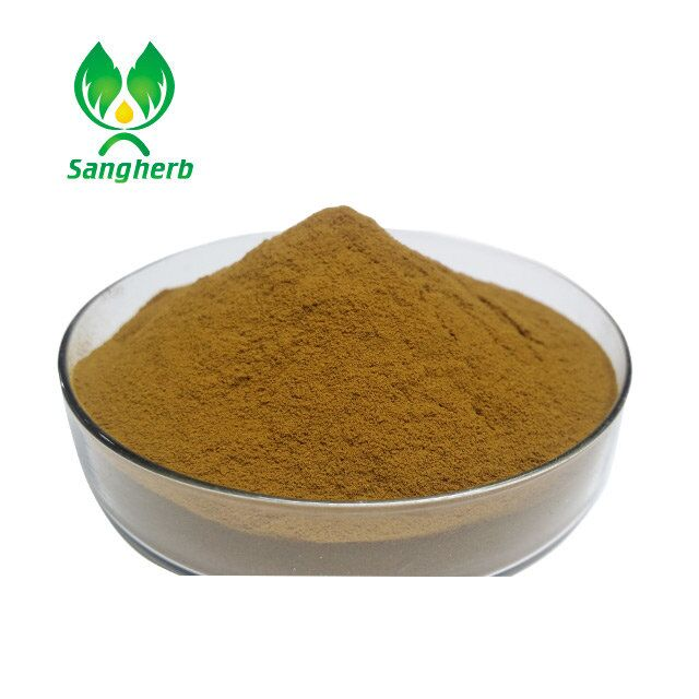 Factory supply Organic ginkgo biloba leaf extract powder 6% Terpene Lactones