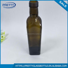 530ml Green Soju with Screw Neck glass bottle for Korean Market