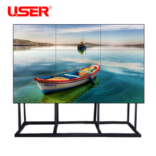 Imported original Korea samsung lcd video wall with 3x3 video wall controller,wall mount rack,HD splitter