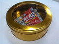 Fancy and beautiful cookie tins Gongs bottom