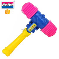 good quality plastic hammer toys with EN71 hammers toys for kids party favor toy plastic hammer