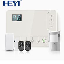 GPRS GSM 3G home security alarm system,smart wireless security system,panic alarm for fire and gas
