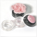 2016 new products cute travel rose contact lens storage case box container