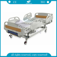 AG-BYS101 Medical patient sleep two crank manual hospital bed