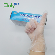 High quality latex free medical grade meets EN455-1/2/3 Vinyl Glove