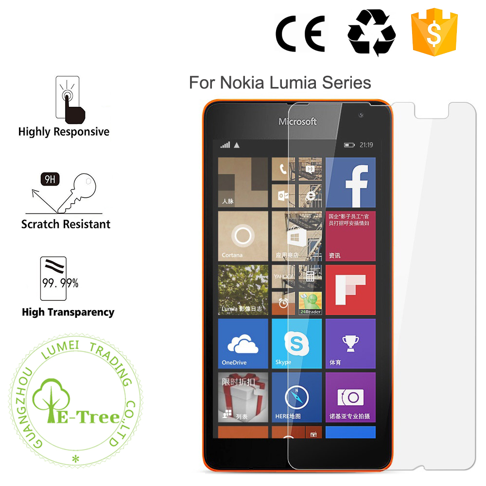 Wholesale Cell Phone 0.3MM Ultrathin Touch Screen Tempered Glass Film For Nokia Lumia 920 930 950 XL