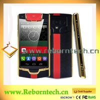 New JIAKE V1 Luxury Style Android Smartphone golden Colors Available