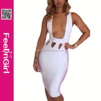 China wholesale fashion dresses for women plus size bandage dresses wholesale