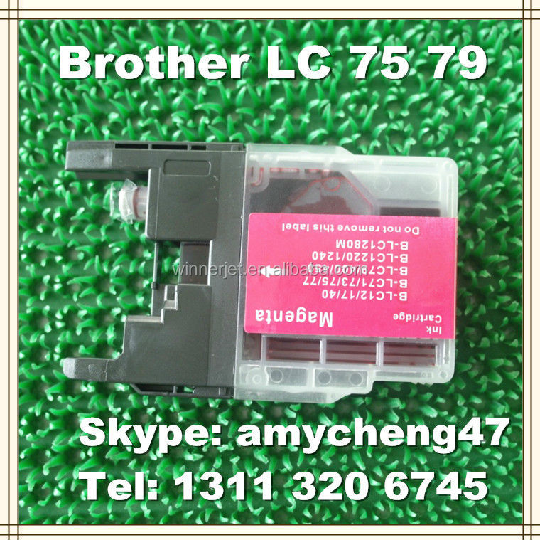 LC12 LC17 Ink Cartridge For Brother LC40 LC400 LC450 Ink Cartridge For Brother Printer