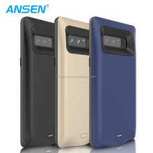 Best selling products electronics power bank portable power case 5500mah smart phone battery charge case for Samsung Note 8