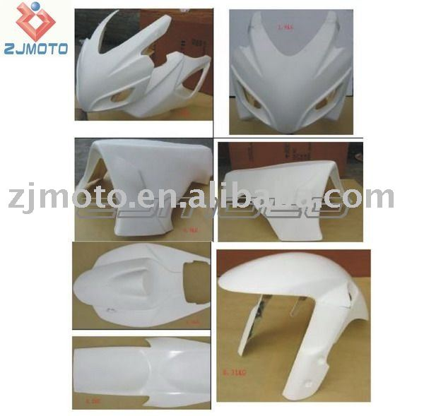 FRP Motorcycle Bodywork Fairing For SUZUKI GSXR600/750 2006-2007 FRP Racing Fairing Body Kits Cover (HRH)