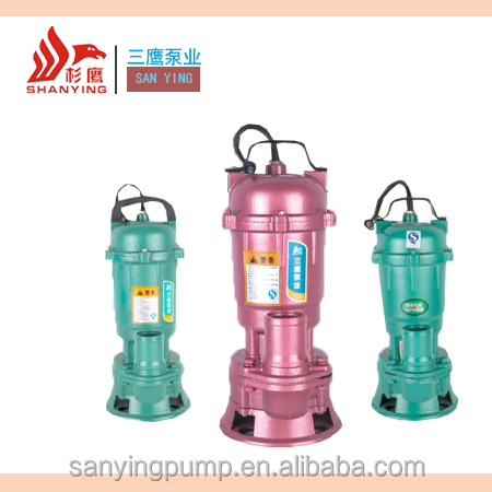 Best Quality Sewage Waste Submersible Water Pumps