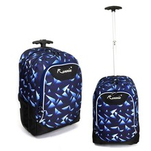 Factory supply best quality multipurpose trolley school bag for girls