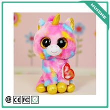 TY beanie boos cheap cute colorful unicorn plush toy wholesale fashion stuffed soft big eyes animal toy plush unicorn