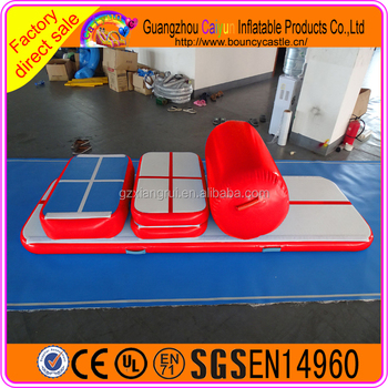 Cheap air track for gym/inflatable tumble track water mat