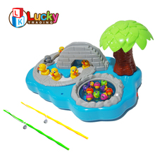 wholesale china music fishing battery operated plastic electronic toy for kids