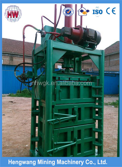 used scrap metal baling press/grass hay baler machine