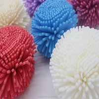 Flower Shaped EVA Bath Sponges For Kids