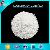 China supplier rubber accelerator ZDBC / BZ for footwear raw material