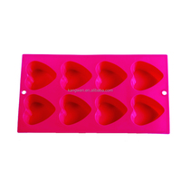 Heart shape design cake tools 8cups silicone cake pan silicone bakeware