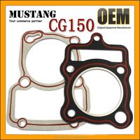 Motorcycle Cylinder Gasket and Cylinder Head Gasket for CG150,CG200,AX100,GY6-125,GY6-150,YBR125