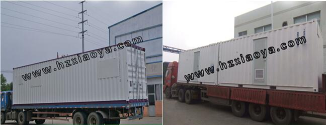 40ft luxury prefab shipping container shop crane sale