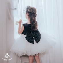 Madeleine Beads Collar Elegant Girl Tutu Dress