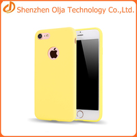 Factory price Wholesale soft tpu candy color case for iphone 7, candy color tpu case
