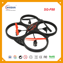 New design weccan F88 2.4GHZ 4 axis aircraft foam frame selfie air drone with gyro unmanned aerial vehicle uav for child