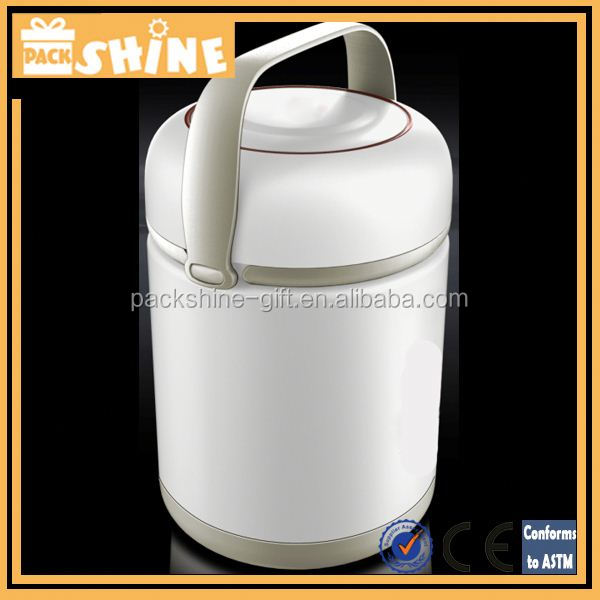 Stainless Steel lunch box food thermo container, 1000ml, Food Grade, High Quality
