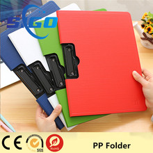 2016 Hot sale new plastic pp file folder/beautiful folder
