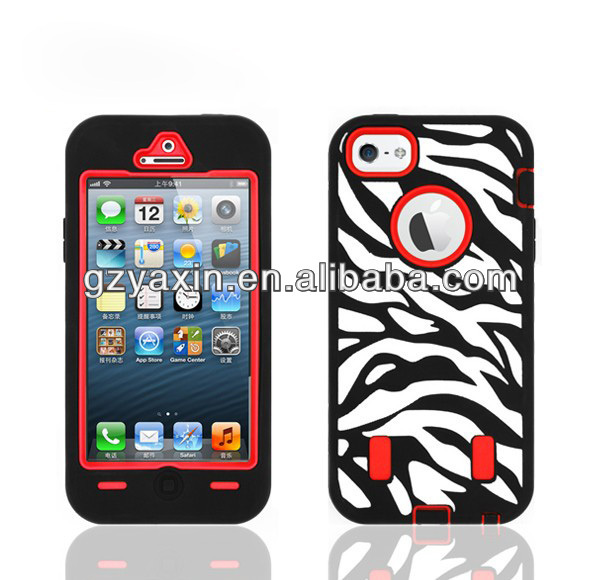 Bulk case for iphone 5,Super protection combo case for iphone 5