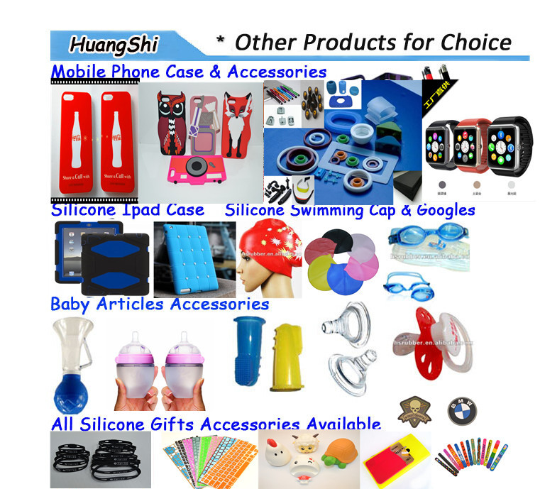 hot sale double sided cell phone Silicone sucker environmental silicone sucker customized window sucker