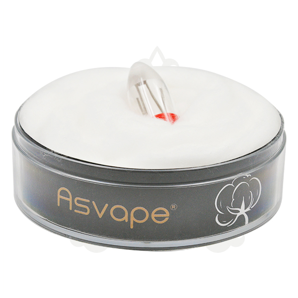 Asvape 100% Natural Organic Cotton For Vaping With Huge Cloud